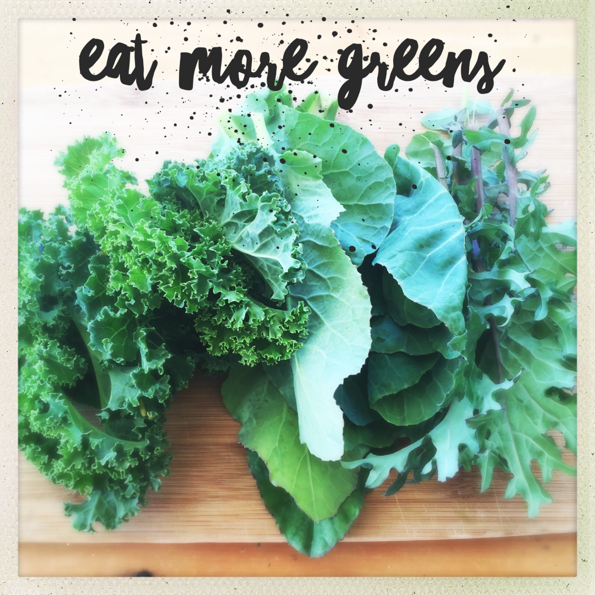 getting your greens