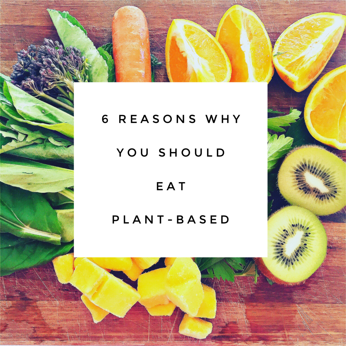 reasons to eat plant based