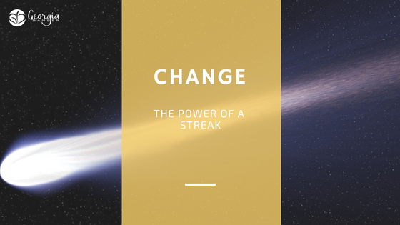 Change - the power of a streak