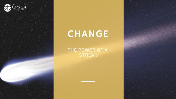 Change - the power of a streak
