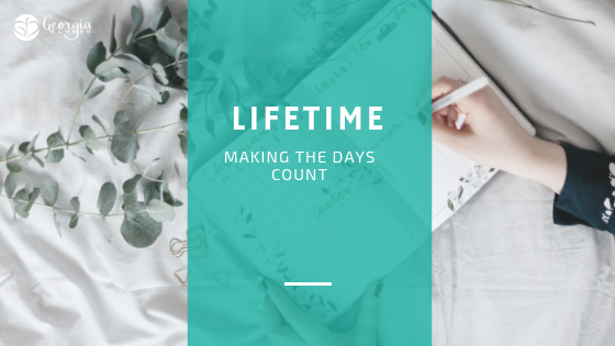 making the days count